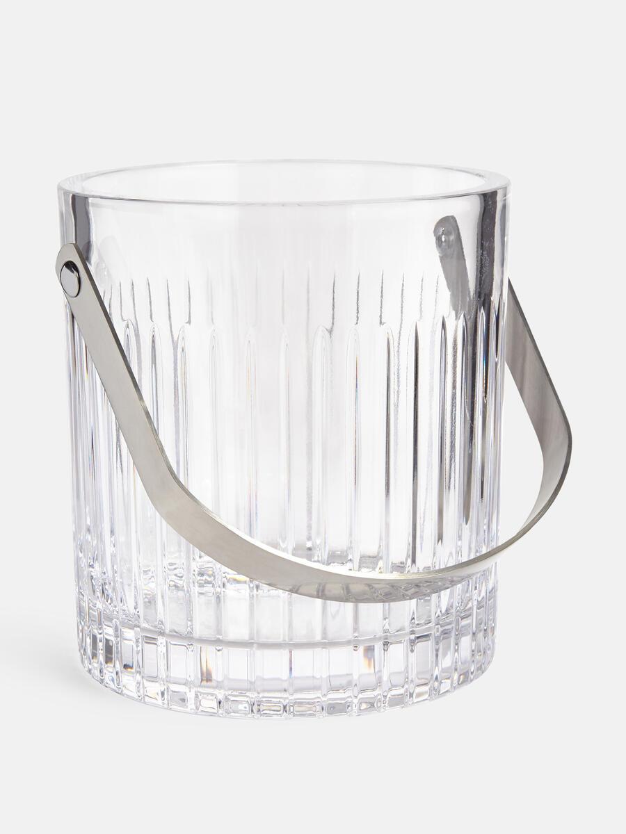 Roebling Cut Crystal Ice Bucket Soho Home